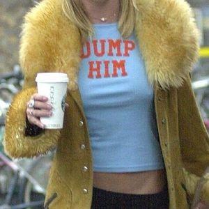 "Iconic ""Dump Him"" tee"